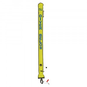 Deluxe 6-foot Signal Tube Yellow