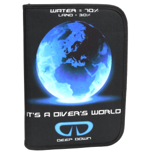 Log Book Binder Divers World