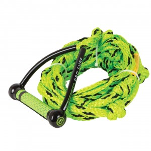 "9"" Pro Surf Rope Black/Yellow"