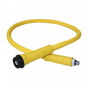 Low Pressure Hose Yellow - Apeks Flight