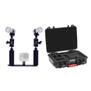 Go Pro Light Kit Incl. AL-1200 lights