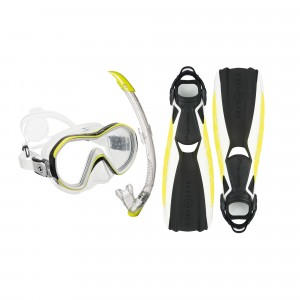 Phazer White Lime Softgear Set