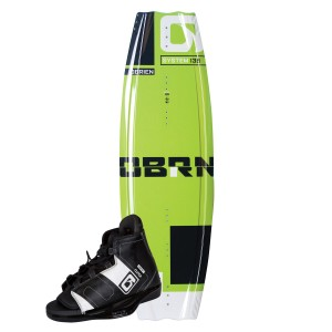 System Wakeboard w/Clutch Binding 8-11