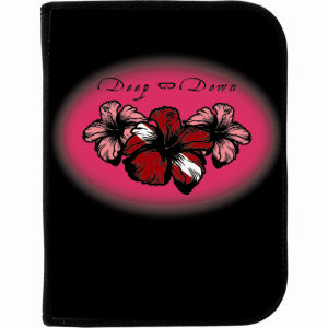 Log Book Binder Lotus Flower