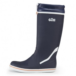 Tall Yachting Boot Navy/Grey