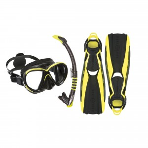 Phazer Black Lime Softgear Set