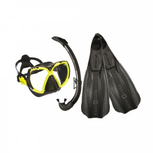 Stratos 3/Mission Black Lime Softgear Set
