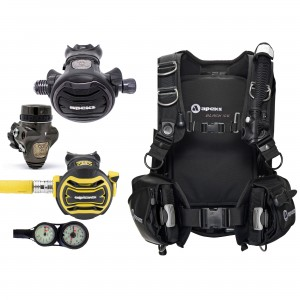 Tungsten/XTX40 Pack Black Ice Hardgear Set
